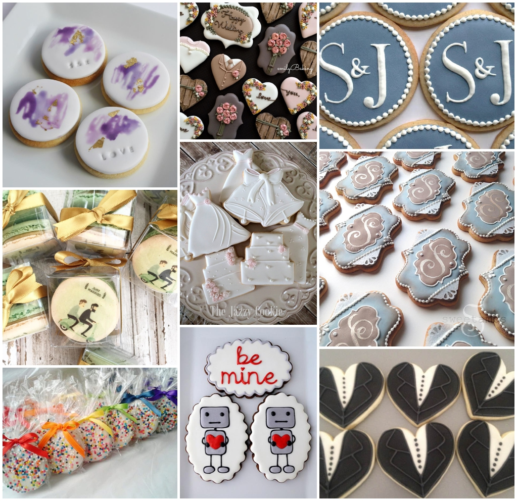 Gay Wedding Blog - personalised wedding cookies