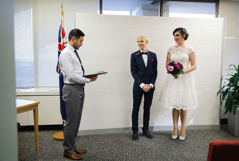 same sex wedding new zealand - gay wedding blog