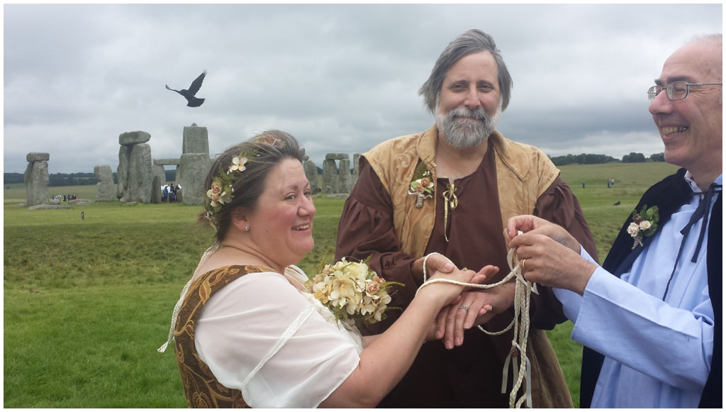 Gay Wedding Blog - civil ceremony - Vows That Wow - stonehenge wedding
