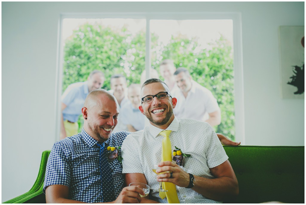 Palm Springs gay elopement - gay wedding blog