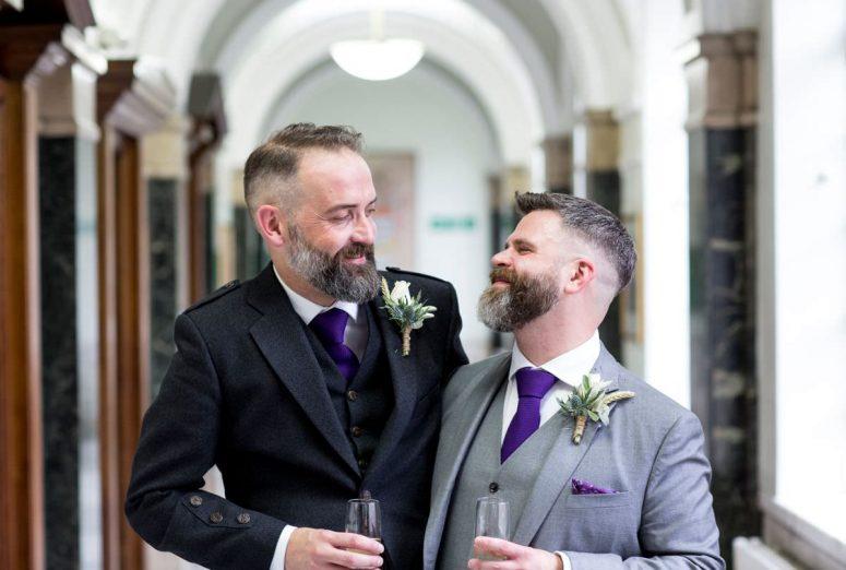 Niall and Gareth\'s Islington Assembly Hall wedding | GAY WEDDING BLOG