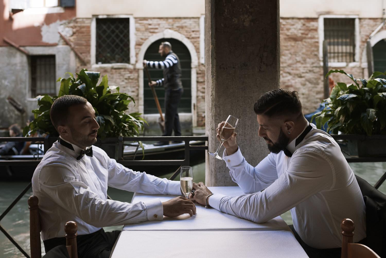 Gay Wedding Blog Venice elopement