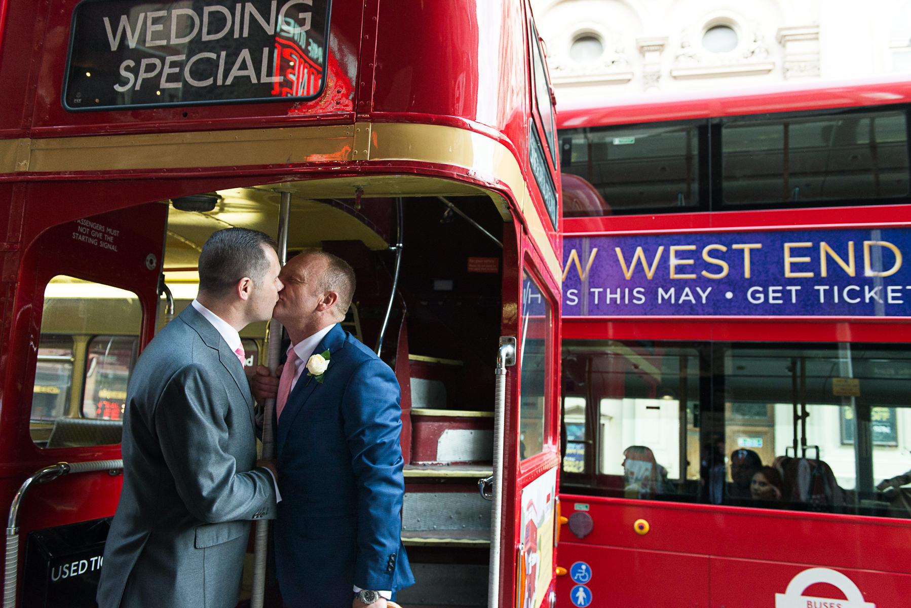 Gay surprise bus