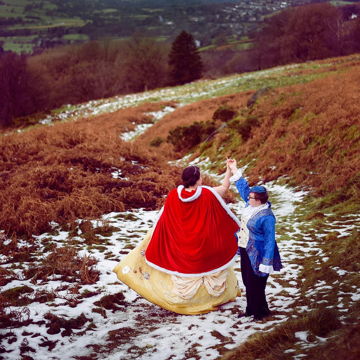 Gay Wedding Blog - Cosplay Engagement Shoot