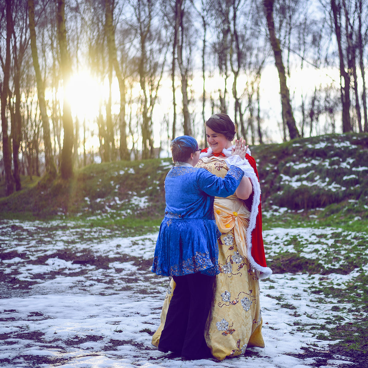 Gay Wedding Blog - Cosplay Engagement Shoot