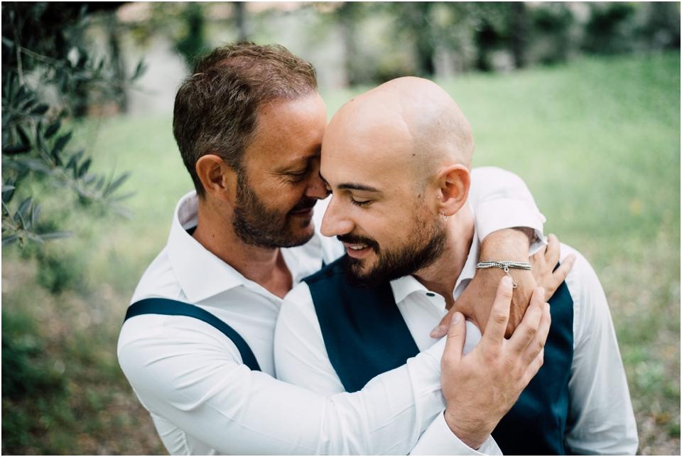 Rustic wedding same sex styled shoot - couple portrait shoot