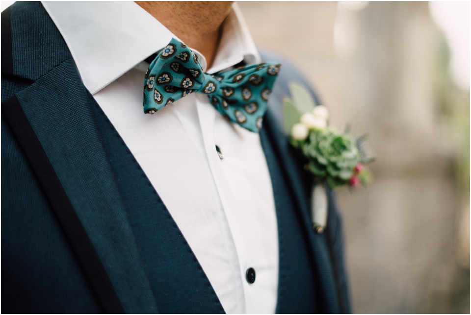 Rustic wedding same sex styled shoot - bowtie