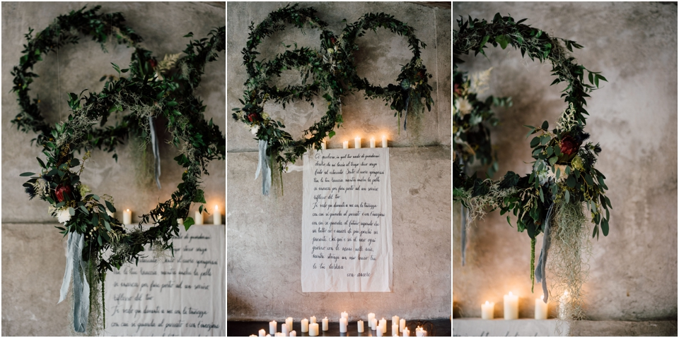 Rustic wedding same sex styled shoot - decorations