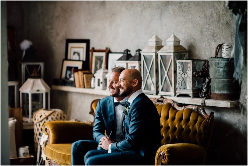 Rustic wedding same sex styled shoot - portrait