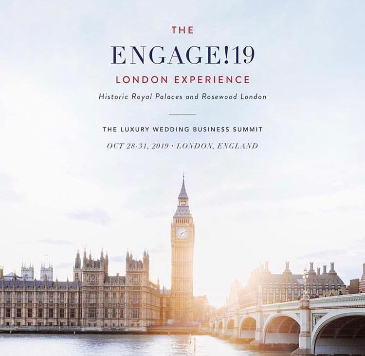 ENGAGE!19 - A Luxury wedding event poster - Big Ben London