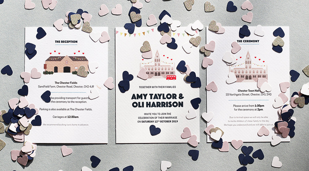 Wedding stationery guide - picture of a wedding invitation